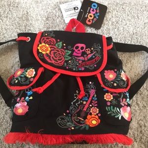 Child Coco canvas backpack